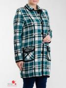 Пальто Milana Style, цвет мятный, черный