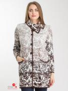 Полупальто Milana Style, цвет бежевый