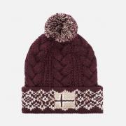 Женская шапка Napapijri Falle Red Burgundy