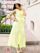 Платье Charm, цвет лимонный