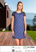 Летнее платье из модала 17045 размер 46(S)
