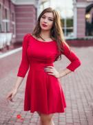 Платье Charm, цвет красный