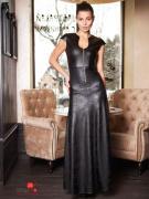 Платье Glem, цвет черный