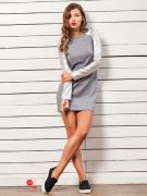 Платье Charm, цвет серый
