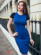Платье Charm, цвет синий