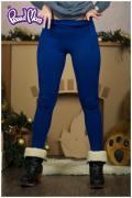 """брюки: Лосины """"Силуэт"""" ярко-синие"""