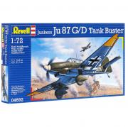 "Сборная модель Revell ""Военный самолет Junkers Ju 87 G/D Tank Buster"""