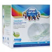 """Одноразовые вкладыши для бюстгальтера Canpol Babies """"Easy Start"""", 40..."""