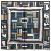 Женский платок геометрия квадраты Basile 8313