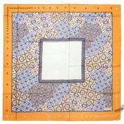 Легкий женский платочек с оригинальным узором Marina D'este 812481