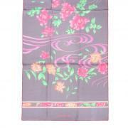 Нежно-сиреневый палантин с цветами и узором Leonard 813440