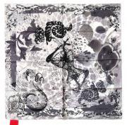 Платок женский в серых тонах CRISTIAN LACROIX 28839
