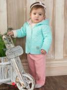 Куртка Мамуляндия для девочки, цвет голубой