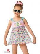 Пляжный костюм Arina для девочки, цвет мультиколор
