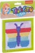 Bondibon Набор для вышивания на пластиковой канве Бабочка