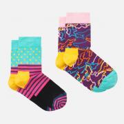 Детские носки Happy Socks 2-pack Electric Socks...