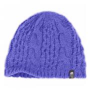 Шапка The North Face CABLE MINNA BEANIE женская светло-фиолетовый OS