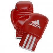 Перчатки боксерские Adidas Rookie-2, цвет: красный. adiBK011. Вес 8...