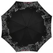 """Зонт-трость женский """"Zest"""", полуавтомат, цвет: черный, белый...."""