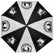 """Зонт женский """"Zest"""", автомат, 4 сложения, цвет: черный, белый...."""