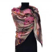 Стильный шелковый большой платок Ungaro 818051