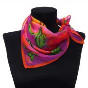 Шейный платочек в крупные цветы Ken Scott 819835