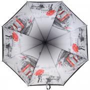 """Зонт женский """"Eleganzza"""", автомат, 3 сложения, цвет: темно-серый,..."""