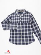 Рубашка Tommy Hilfiger детская, цвет темно-синий