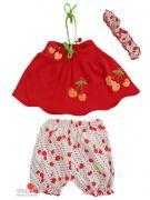 Комплект Baby Rico для девочки, цвет красный
