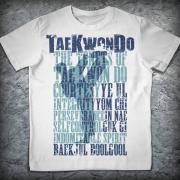 Футболка «Тхэквондо. Принципы», Цвет Черный, Размер 3XL