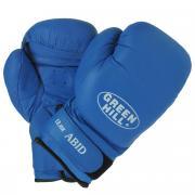 "Перчатки боксерские Green Hill ""Abid"", цвет: синий. Вес 12 унций"