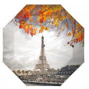 """Зонт женский Flioraj """"Bonjour, Paris!"""", автомат, 3 сложения, цвет:..."""