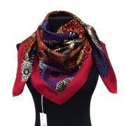 Дизайнерский платок с оригинальными цветами Ungaro 818062