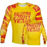 Рашгард VENUM SPEED CAMO URBAN RASHGUARD LONG SLEEVE - ACID YELLOW