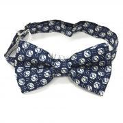 Интересная синяя галстук бабочка с игральными костями Valentino 813332