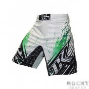 Шорты ММА Contract Killer Stained S2 Shorts - White/Green Contract...