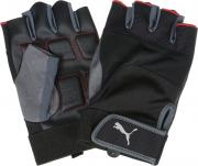 Перчатки для фитнеса Puma Training Gloves Up, цвет: черный, серый....