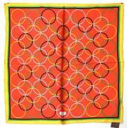 Шейный платок в кружочек Basile 29002