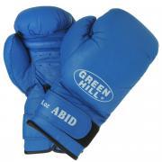 "Перчатки боксерские Green Hill ""Abid"", цвет: синий. Вес 8 унций"