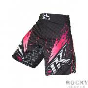 Шорты ММА Contract Killer Stained S2 Shorts - Black/Pink Contract...