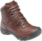 Ботинки KEEN Lumberjack Mid WP, Dark Brown, 7.5