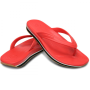 Шлепанцы Crocs Retro Flip Red / Black