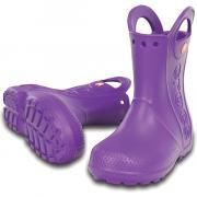 Сапоги Crocs Handle It Rain Boot Фиолетовые