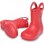 Сапоги Crocs Handle It Rain Boot Красные