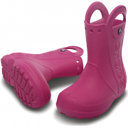 Сапоги Crocs Handle It Rain Boot Фуксия