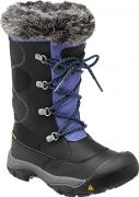 Сапоги юношеские KEEN Kelsey Boot WP, Black/Periwinkle, 3