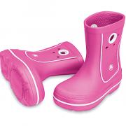 Сапоги Crocs Jaunt Kids Розовые