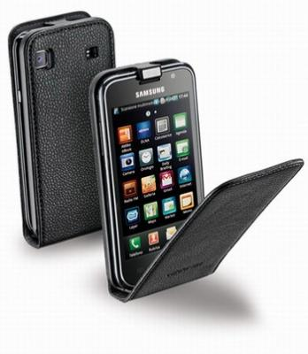 Чехол для Samsung I9000 Galaxy S Cellular Line Flap Essential из кожи содержит все необходимые отвер. полный текст.
