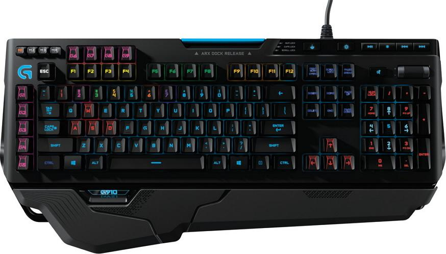 Logitech g910 orion spark rgb mechanical gaming keyboard with exclusives