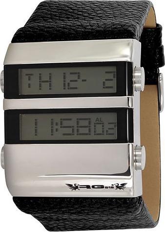 Модель: RG512 G32361-205 Наручные часы мужские Механизм: Кварцевый Корпуc: Стальной Циферблат: Электронный